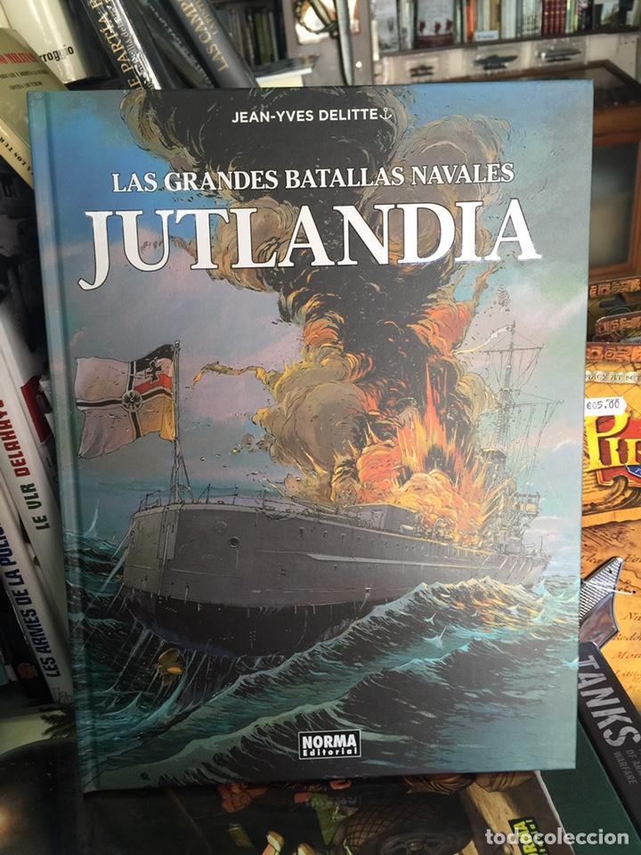 CÓMIC LAS GRANDES BATALLAS NAVALES: JUTLANDIA (Tebeos y Comics - Norma - Comic Europeo)