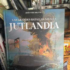 Cómics: CÓMIC LAS GRANDES BATALLAS NAVALES: JUTLANDIA. Lote 134890461