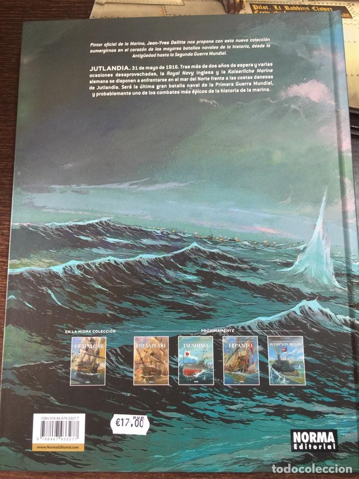 Cómics: Cómic Las grandes batallas navales: Jutlandia - Foto 2 - 134890461