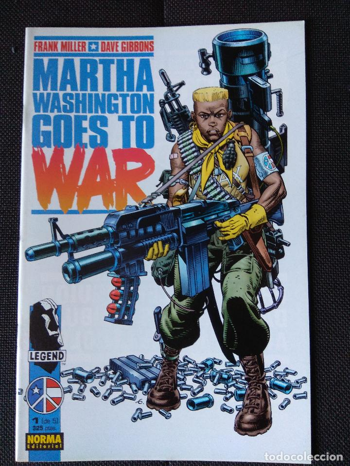 Cómics: Martha Washington Goes to War - Frank Miller / Dave Gibbons (grapa Norma) - Foto 2 - 134898238