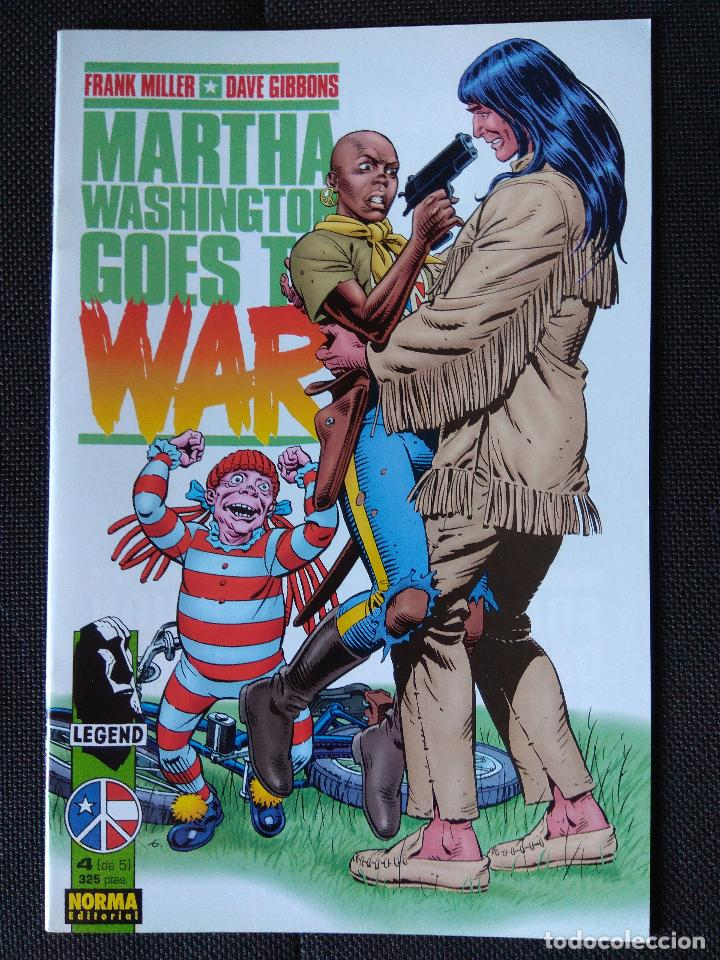 Cómics: Martha Washington Goes to War - Frank Miller / Dave Gibbons (grapa Norma) - Foto 5 - 134898238