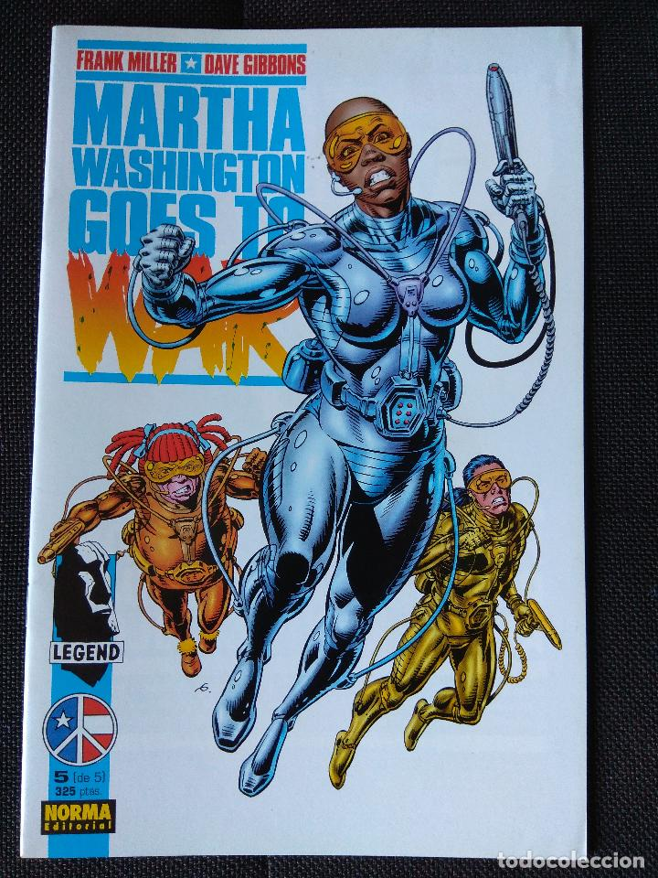 Cómics: Martha Washington Goes to War - Frank Miller / Dave Gibbons (grapa Norma) - Foto 6 - 134898238
