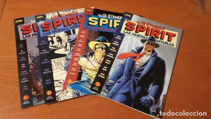 THE SPIRIT. LAS NUEVAS AVENTURAS NORMA EDITORIAL COMPLETA 4 Nº (Tebeos y Comics - Norma - Comic USA)