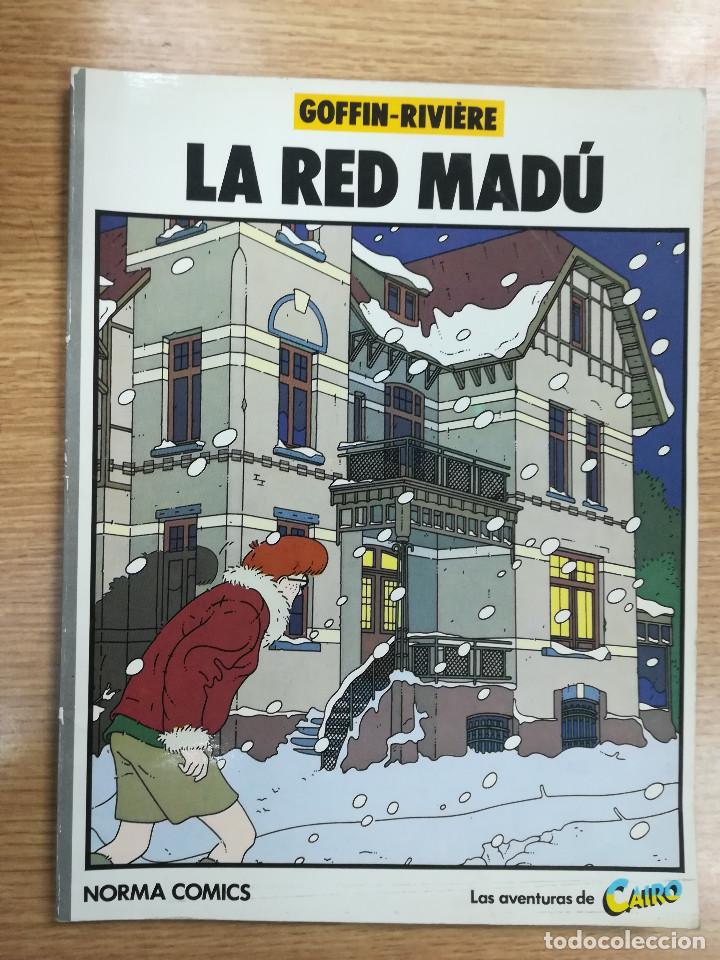 LA RED MADU (Tebeos y Comics - Norma - Cimoc)