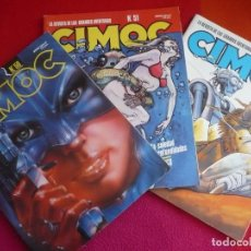 Cómics: CIMOC NºS 50, 51 Y 52 ¡BUEN ESTADO! NORMA CIENCIA FICCION FANTASIA REVISTA COMIC BOURGEON BOUCQ. Lote 135082374