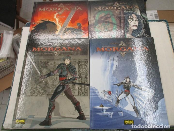 COLECCION COMPLETA - MORGANA - 4 EJEMPLARES - TAPA DURA - NORMA EDITORIAL (Tebeos y Comics - Norma - Comic Europeo)