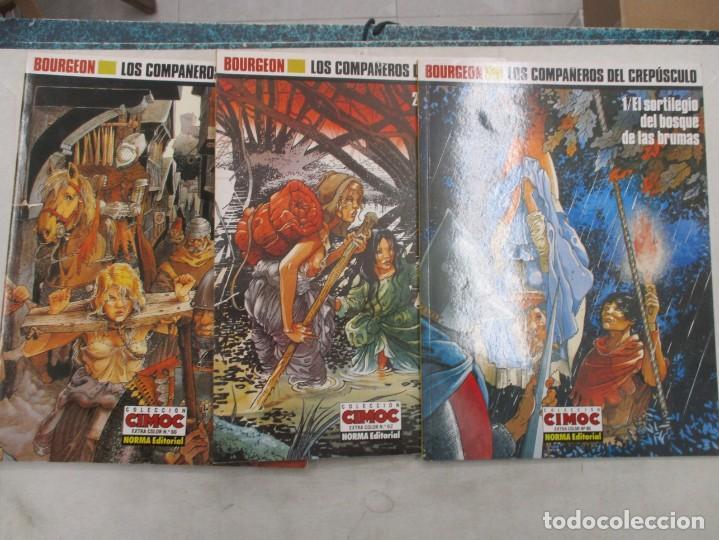COLECCION COMPLETA - LOS COMPAÑEROS DEL CREPUSCULO - CIMOC EXTRA - NORMA EDITORIAL (Tebeos y Comics - Norma - Comic Europeo)