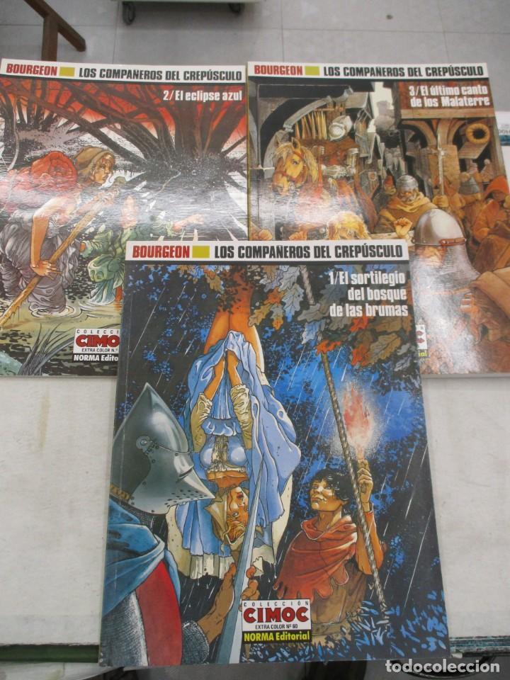 Cómics: COLECCION COMPLETA - LOS COMPAÑEROS DEL CREPUSCULO - CIMOC EXTRA - NORMA EDITORIAL - Foto 2 - 135141958