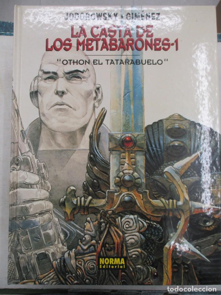 LA CASTA DE LOS METABARONES - Nº 1 - OTHON - JODOROWSKY / GIMENEZ - TAPA DURA - NORMA (Tebeos y Comics - Norma - Comic Europeo)