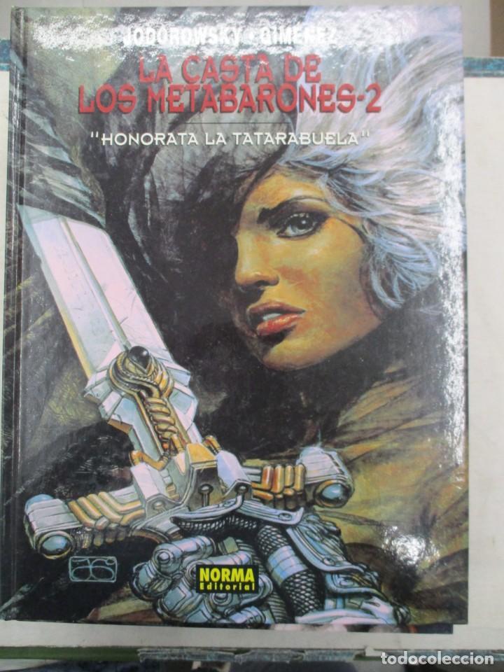 LA CASTA DE LOS METABARONES - Nº 2 - HONORATA - JODOROWSKY Y GIMÉNEZ - NORMA - TAPA DURA (Tebeos y Comics - Norma - Comic Europeo)