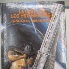 Cómics: LA CASTA DE LOS METABARONES - Nº 3 - AGNAR - JODOROWSKY Y GIMÉNEZ - NORMA - TAPA DURA. Lote 135143962