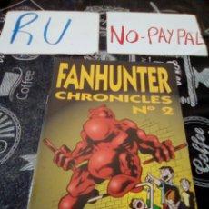 Cómics: FANHUNTER CELS PIÑOL CHRONICLES 2. Lote 135196419