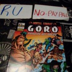 Cómics: GORO PRINCIPE DEL DOLOR 3 NORMA EDITORIAL. Lote 135277414