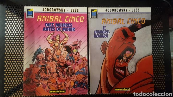 COMICS - ANIBAL CINCO - JODOROWSY / BESS - NORMA - COLECCION PANDORA - DIEZ MUJERES ANTES DE MORIR (Tebeos y Comics - Norma - Comic Europeo)