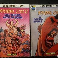 Cómics: COMICS - ANIBAL CINCO - JODOROWSY / BESS - NORMA - COLECCION PANDORA - DIEZ MUJERES ANTES DE MORIR. Lote 135311877