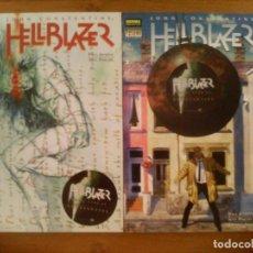 Cómics: HELLBLAZER. EN LA LÍNEA DE FUEGO. COMPLETA. 2 PRESTIGIOS.. Lote 135339466