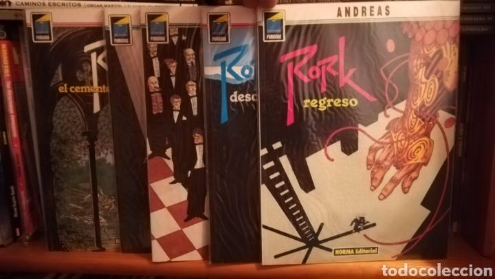 RORK DE ANDREAS-COLECCION COMPLETA-NORMA+CAPRICORNIO (DOS ÚNICOS TOMOS) (Tebeos y Comics - Norma - Comic Europeo)