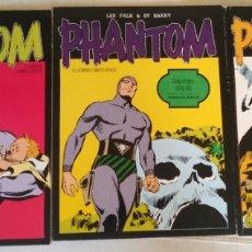 Cómics: PHANTOM (EL HOMBRE ENMASCARADO) - NORMA CLÁSICOS - COMPLETA 3 TOMOS. Lote 135388506