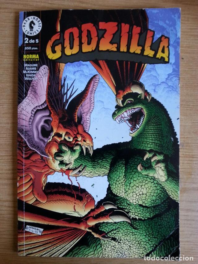 COMIC AÑOS 90 DE GODZILLA 2 DE 5. DARK HORSE COMICS EDITORIAL NORMA (Tebeos y Comics - Norma - Otros)