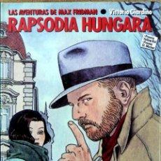 Cómics: LOS ÁLBUMES DE CAIRO RAPSODIA HÚNGARA. Lote 135469410