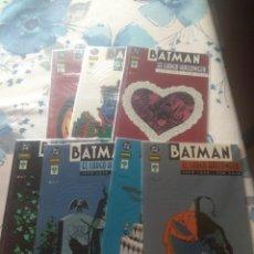 Comics - BATMAN EL LARGO HALLOWEEN NORMA EDITORIAL 7 TOMOS COMPLETA - 135504894