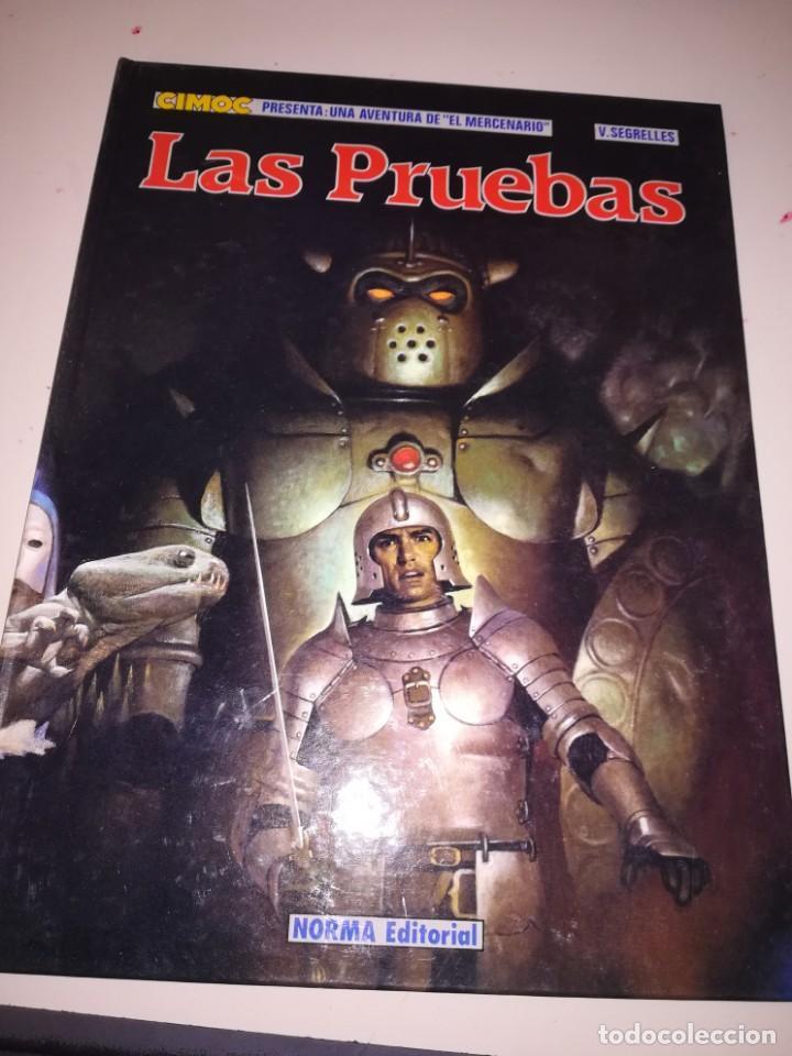CIMOC Nº 5 - EL MERCENARIO - LAS PRUEBAS POR V.SEGRELLES - 1ª EDICION 1984 TAPA DURA REF. UR EST (Tebeos y Comics - Norma - Cimoc)