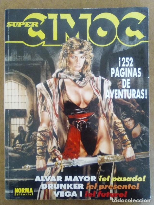 SUPER CIMOC Nº 3 (RETAPADO CON LOS NUMEROS 101 A 103) NORMA - BUEN ESTADO - OFM15 (Tebeos y Comics - Norma - Cimoc)
