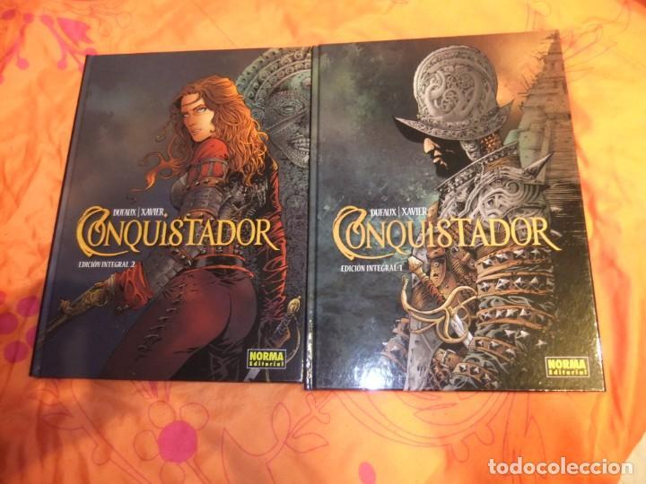 CONQUISTADOR DOS INTEGRALES COMPLETA NORMA EDITORIAL (Tebeos y Comics - Norma - Comic Europeo)