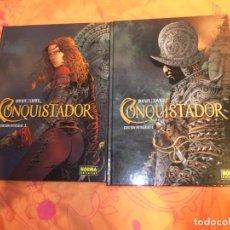 Cómics: CONQUISTADOR DOS INTEGRALES COMPLETA NORMA EDITORIAL. Lote 135811154
