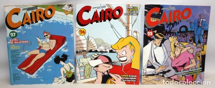 3 COMICS CAIRO.-NORMA EDITORIAL- (Tebeos y Comics - Norma - Cairo)