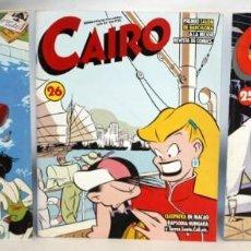 Cómics: 3 COMICS CAIRO.-NORMA EDITORIAL-. Lote 136163290