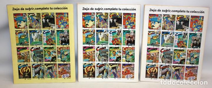 Cómics: 3 COMICS CAIRO.-NORMA EDITORIAL- - Foto 2 - 136163290