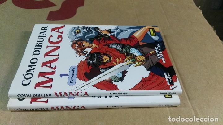 Cómics: Como dibujar Manga. Norma editorial, Barcelona, 2002. números 1 y 2 - Foto 2 - 136217114