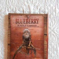 Cómics: BLUEBERRY - INTEGRAL - LOS MONTES DE LA SUPERTISCION - LA MINA DEL ALEMAN PERDIDO - EL FANTASMA DE L. Lote 136246954