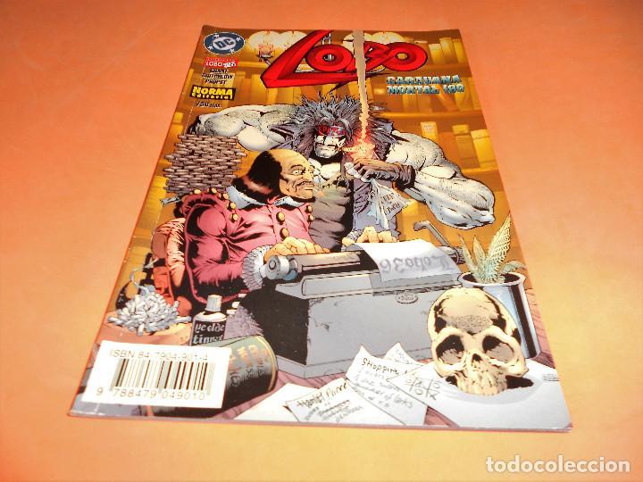 LOBO - CARAVANA MORTAL- Nº 8- ALAN GRANT- BUEN ESTADO. (Tebeos y Comics - Norma - Comic USA)