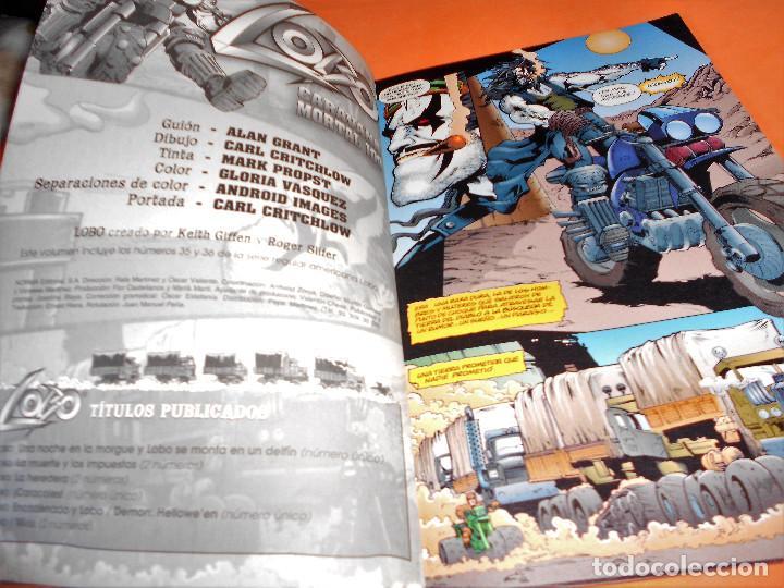 Cómics: LOBO - CARAVANA MORTAL- Nº 8- ALAN GRANT- BUEN ESTADO. - Foto 3 - 136687102