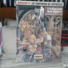 Cómics: BOURGEON. LOS COMPAÑEROS DEL CREPÚSCULO. 3/EL ÚLTIMO CANTO DE LOS MALATERRE. . Lote 136698206