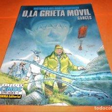 Cómics: U, LA GRIETA MOVIL, DE GARCÉS (NORMA, 1990) CIMOC EXTRA COLOR-73-BUEN ESTADO. Lote 136772246