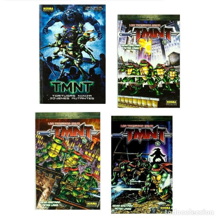 PACK LAS TORTUGAS NINJA. 4 CÓMICS - EASTMAN/LAIRD DESCATALOGADO!!! OFERTA!!! (Tebeos y Comics - Norma - Comic USA)