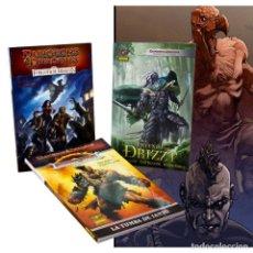 Cómics: CÓMICS. PACK MUNDOS DUNGEONS & DRAGONS. 3 NÚMEROS ÚNICOS - GREENWOOD /IRV DESCATALOGADO!!! OFERTA!!!. Lote 136956706