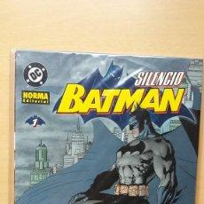 Comics - Batman Silencio. 1 2 3 4 y 5 Completa. Jeph Loeb y Jim Lee. Norma DC. Perfecto estado. - 137126270