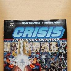 Comics - Crisis en tierras infinitas. Tomo Norma. Marv Wolfman y George Perez. DC Perfecto estado - 137128262