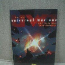 Cómics: UNIVERSAL WAR ONE TOMO 2: EL FRUTO DEL CONOCIMIENTO - BAJRAM. Lote 137403514