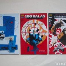 Fumetti: 100 BALAS - SEGUNDA OPORTUNIDAD - 1 AL 3 - NORMA - COLECCION VERTIGO - N° 173-177-179. Lote 137621970