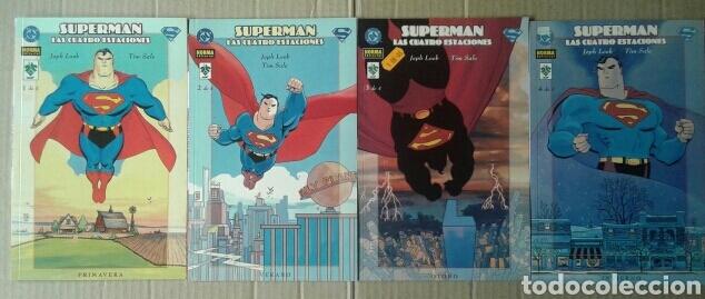 LOTE SUPERMAN: LAS CUATRO ESTACIONES COMPLETA (NORMA / VID, 2001), NÚMEROS 1-2-3-4. (Tebeos y Comics - Norma - Comic USA)