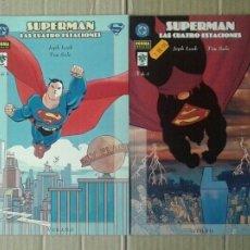 Cómics: LOTE SUPERMAN: LAS CUATRO ESTACIONES COMPLETA (NORMA / VID, 2001), NÚMEROS 1-2-3-4.. Lote 137793888