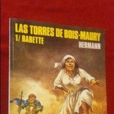 Cómics: LAS TORRES DE BOIS-MAURY 1 - BABETTE - COL. CIMOC EXTRA COLOR 79 - HERMANN - RUSTICA. Lote 137926158