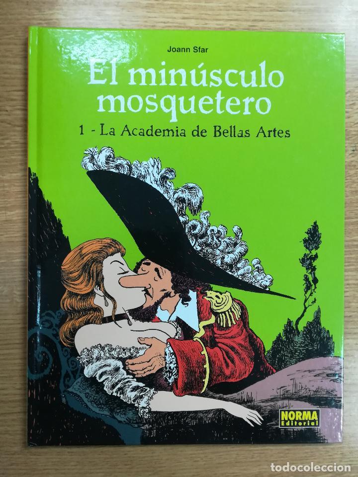 EL MINUSCULO MOSQUETERO #1 LA ACADEMIA DE BELLAS ARTES (Tebeos y Comics - Norma - Comic Europeo)