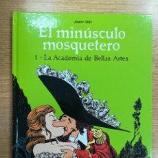 Cómics: EL MINUSCULO MOSQUETERO #1 LA ACADEMIA DE BELLAS ARTES. Lote 137973065