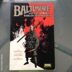 Cómics: BALTIMORE TOMO 1 - MIGNOLA. Lote 138061898